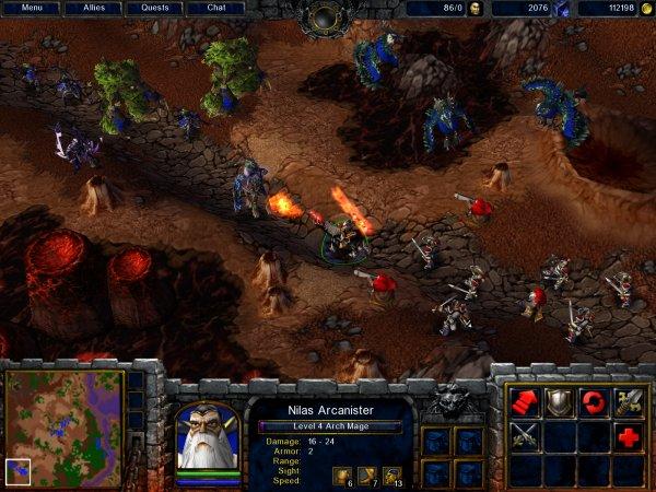 Скачать warcraft 3 frozen throne reign of chaos