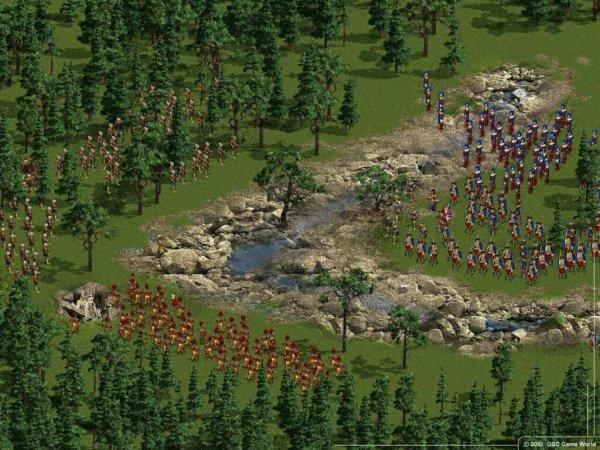 Huge battle
