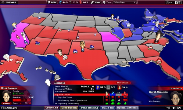The Political Machine 2012 screenshot 3