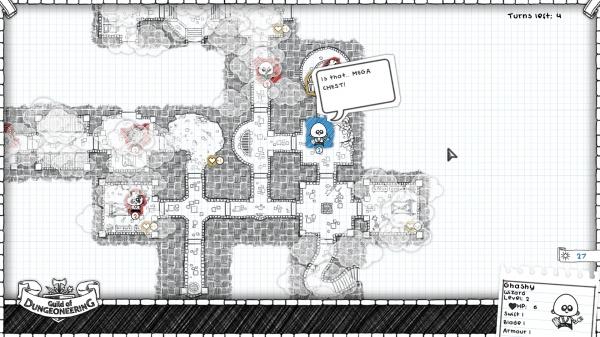 Guild of Dungeoneering review screenshot