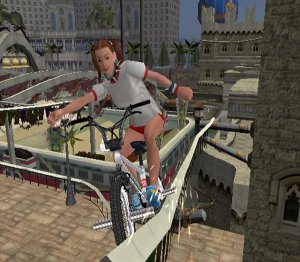 BMX XXX is primarily an extreme stunt riding game of the type that has been ...