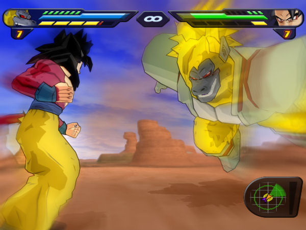 Dragon Ball Z: Budokai Tenkaichi 2 Screen #5