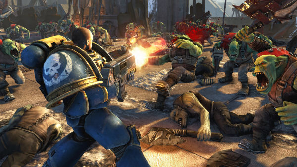 Warhammer 40,000 Space Marine screenshot 1