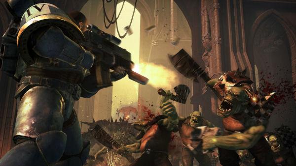 Warhammer 40,000 Space Marine screenshot 3