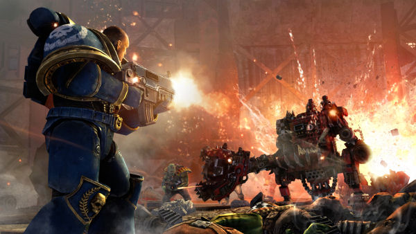 Warhammer 40,000 Space Marine screenshot 5