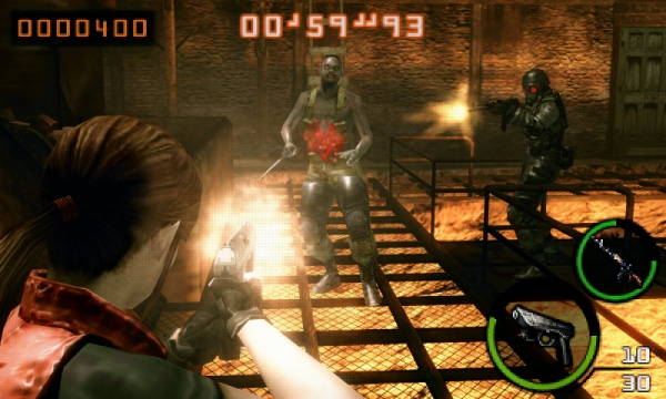 Resident Evil: The Mercenaries 3D screenshot 10
