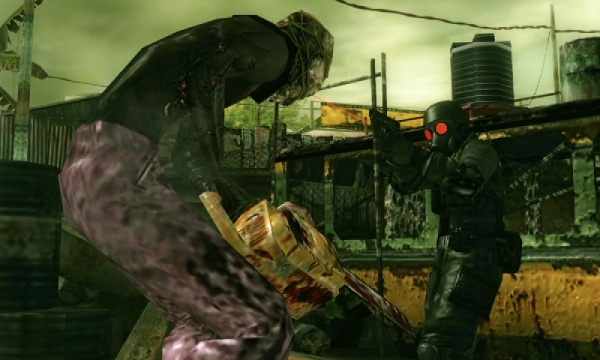 Resident Evil: The Mercenaries 3D screenshot 15