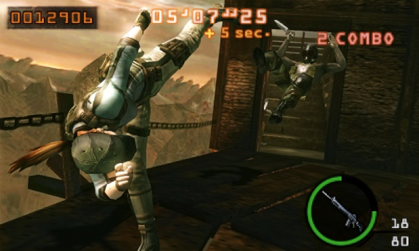 Resident Evil: The Mercenaries 3D screenshot 20