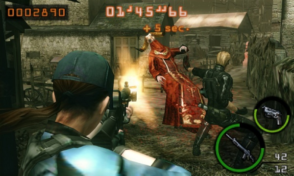 Resident Evil: The Mercenaries 3D screenshot 25