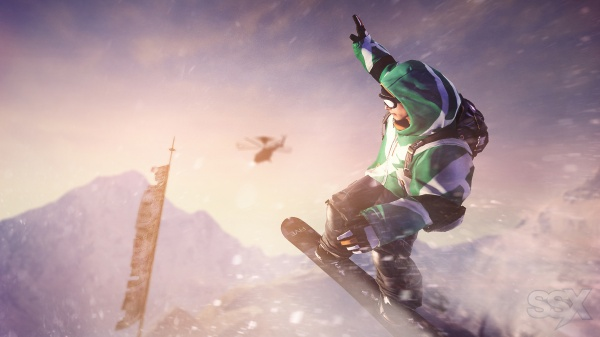 SSX screenshot 3