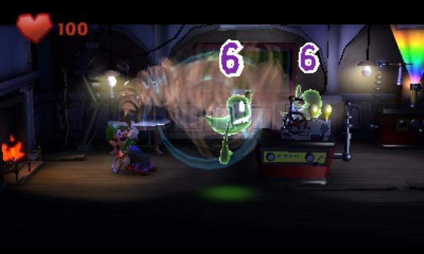 Luigi's Mansion: Dark Moon screenshot 4