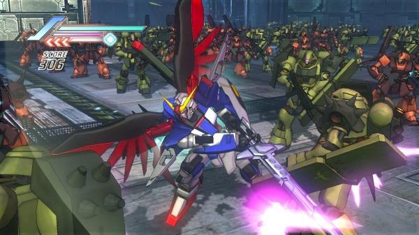 Dynasty Warriors: Gundam 3 screenshot 1