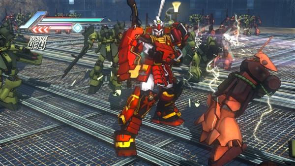 Dynasty Warriors: Gundam 3 screenshot 10