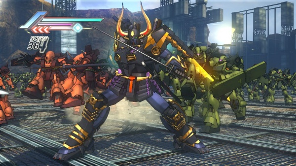 Dynasty Warriors: Gundam 3 screenshot 14