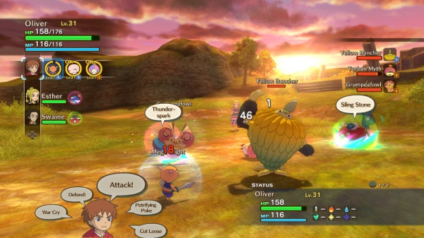 Ni no Kuni: Wrath of the White Witch screenshot 4