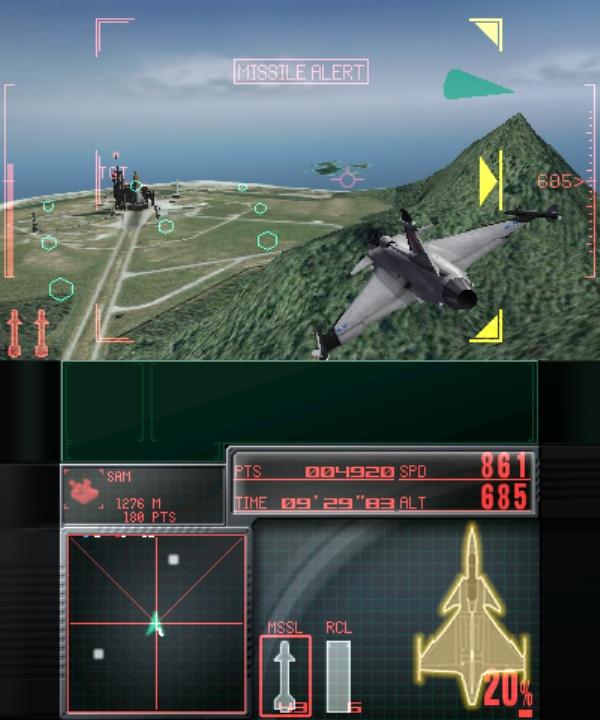 Ace Combat Assault Horizon Legacy screenshot 2