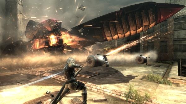 Metal Gear Rising: Revengeance screenshot 3