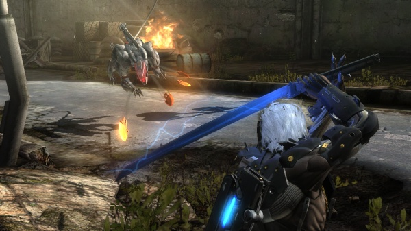 Metal Gear Rising: Revengeance screenshot 9