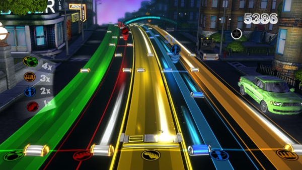 Rock Band Blitz screenshot 1
