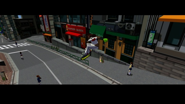 Jet Set Radio screenshot 5