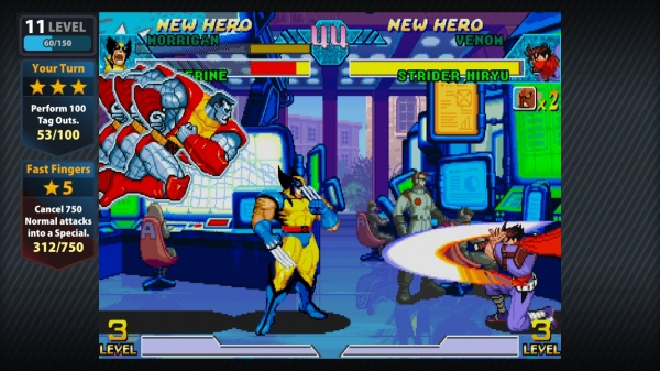 Marvel vs. Capcom Origins screenshot 1