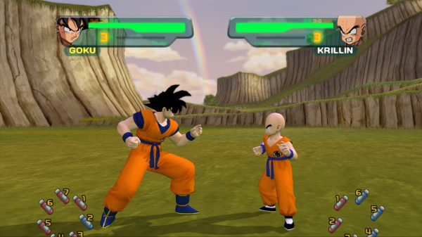 Dragon Ball Z Budokai HD Collection screenshot 2