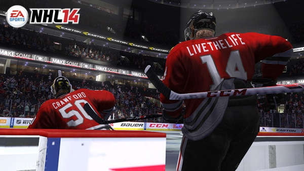 NHL 14 screenshot 1
