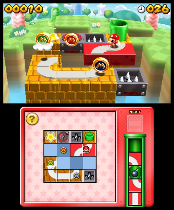 Mario and Donkey Kong: Minis on the Move screenshot 1