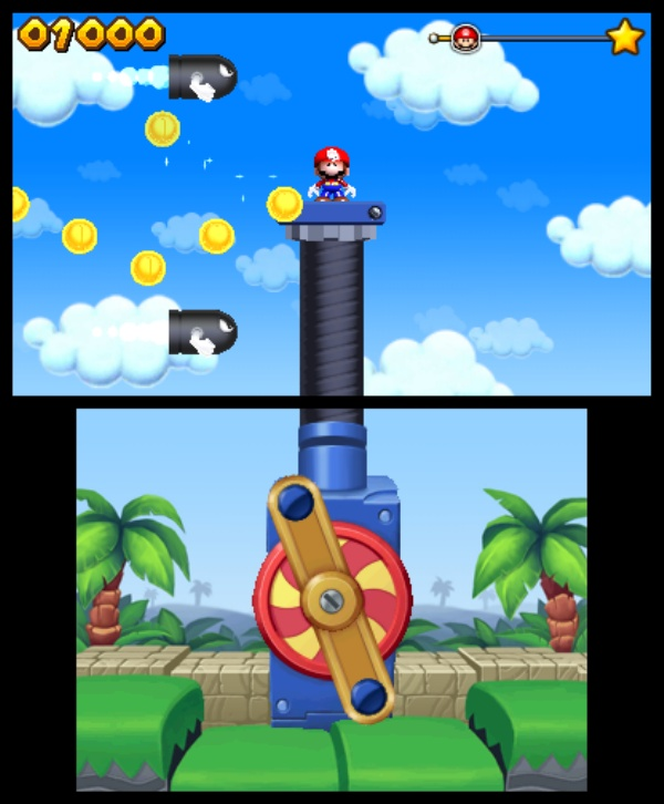 Mario and Donkey Kong: Minis on the Move screenshot 4
