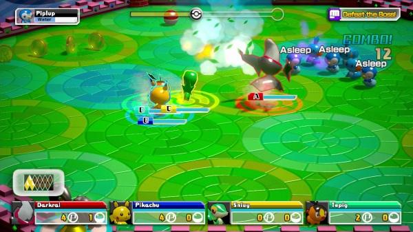 Pokemon Rumble U screenshot 1