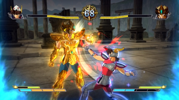 Saint Seiya Brave Soldiers screenshot 3