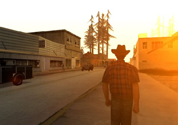 Grand Theft Auto: San Andreas Screenshot 40 - PlayStation 2 - The Gamers' Temple