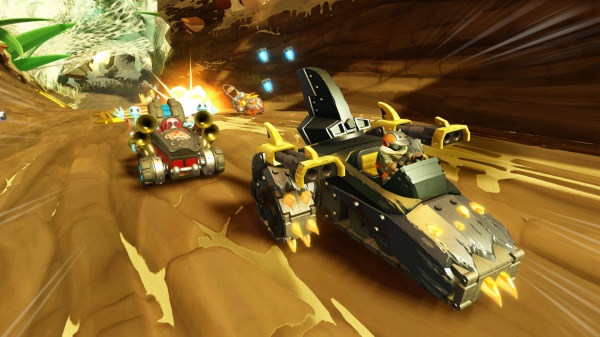 Skylanders SuperChargers review screenshot