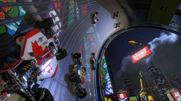 Trackmania Turbo racing into release next month