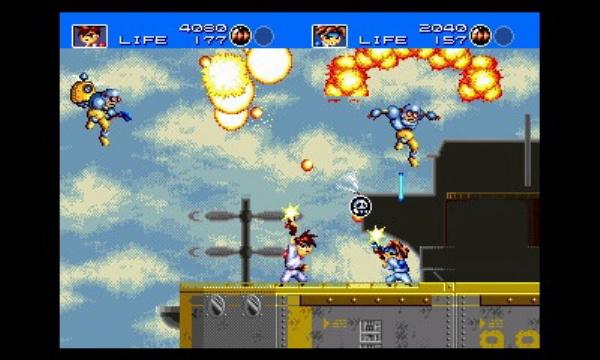 3D Gunstar Heroes review screenshot