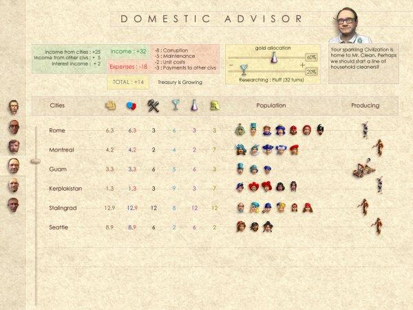 Domestic Advisor