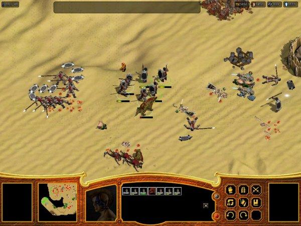 Bloody skirmish