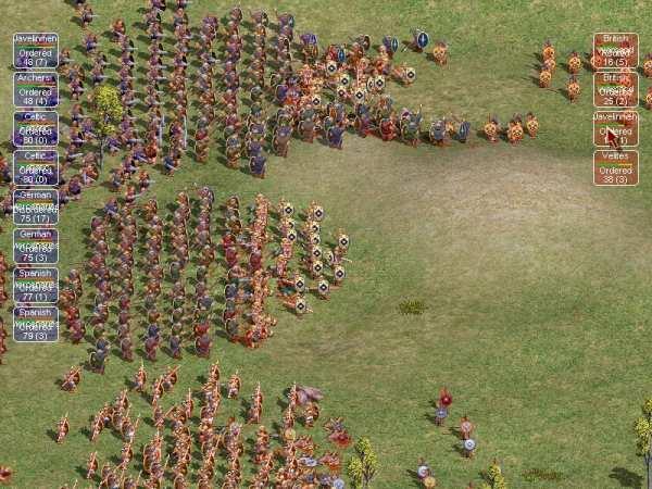 Legion battle
