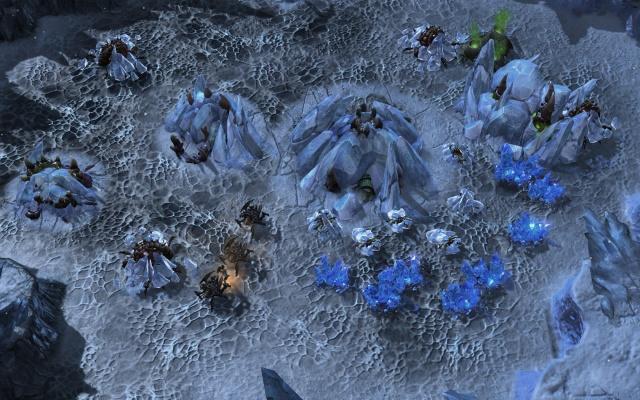 Terran base under attack