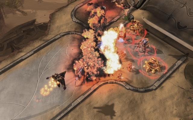 StarCraft II: Wings of Liberty screenshot 7