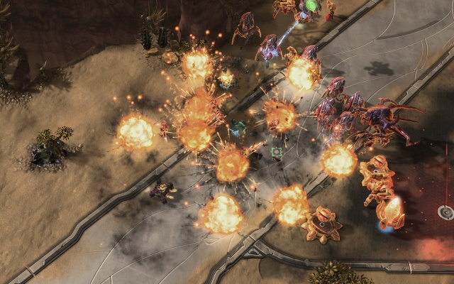 StarCraft II: Wings of Liberty screenshot 9