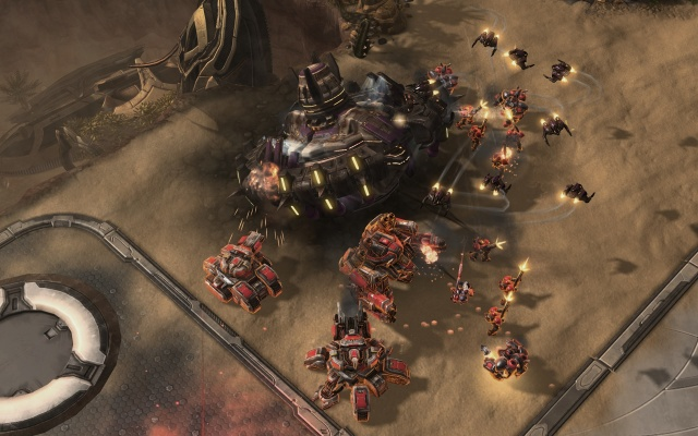 StarCraft II: Wings of Liberty screenshot 12