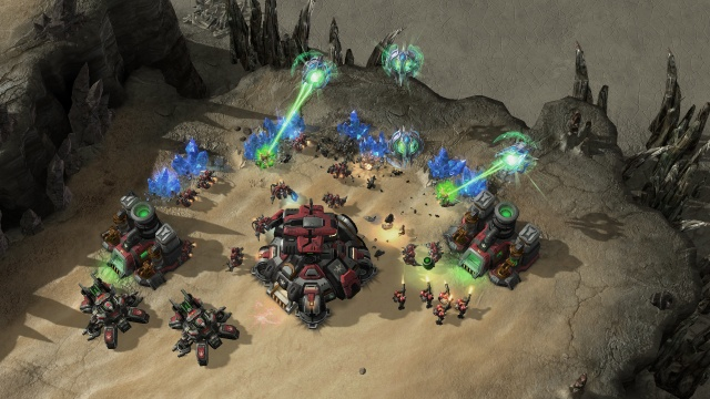 StarCraft II: Wings of Liberty screenshot 26