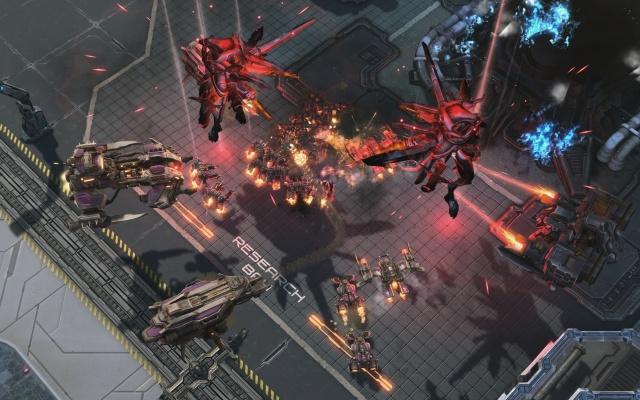 StarCraft II: Wings of Liberty screenshot 27