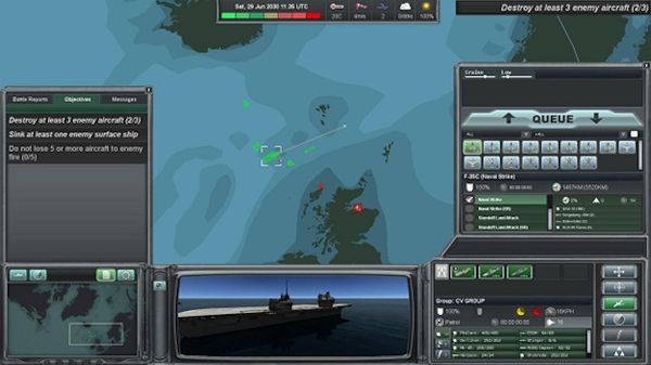 Naval War: Arctic Circle screenshot 5