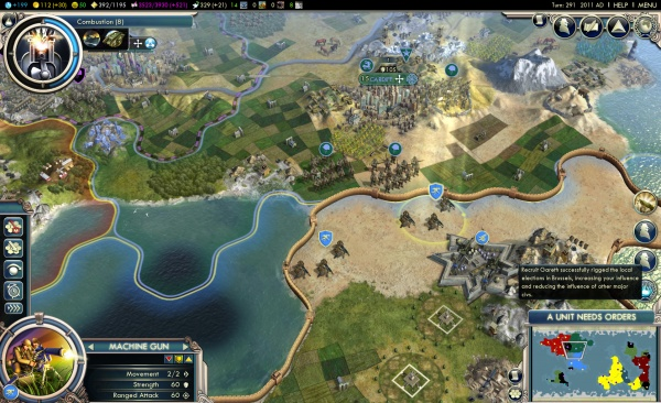 Civilization V: Gods & Kings screenshot 3