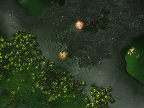 StarCraft II: Heart of the Swarm screenshot 6