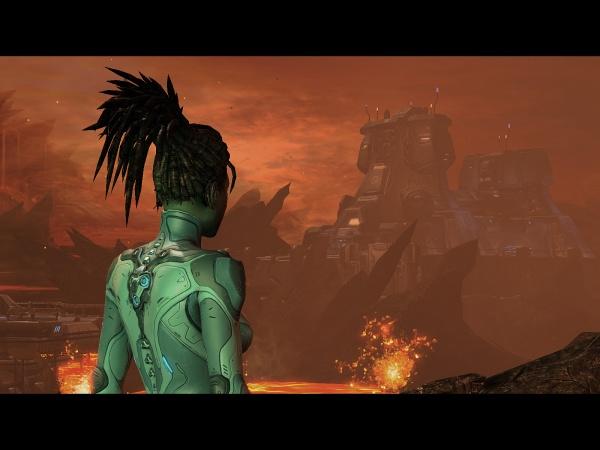 StarCraft II: Heart of the Swarm screenshot 9