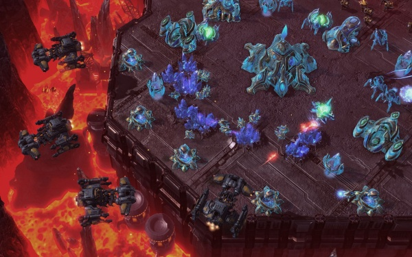 StarCraft II: Heart of the Swarm screenshot 27