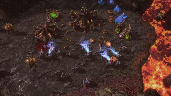 StarCraft II: Heart of the Swarm screenshot 29